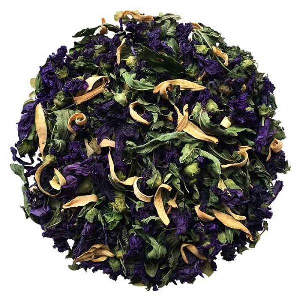 Malva, Mint, and Bitter Orange Blossom are the main ingredients of Violet Season Blend